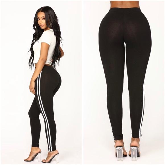 3cebdda1c1286 Fashion Nova Pants | Striped Lounge Leggings | Poshmark